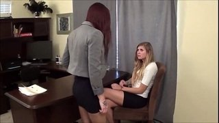 cumshotube.com---Office-Pantyhose-Foot-Worship