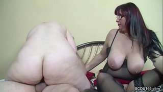 German-old-Couple-Seduce-Step-Daughter-to-Fuck-in-Threesome