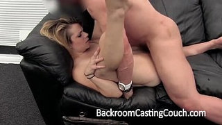 Cheater-Assfucked-and-Creampie-on-Casting-Couch