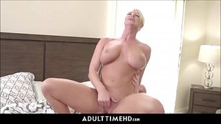 Big-Tits-Blonde-MILF-Step-Mom-Lets-Lonely-Step-Son-Fuck-Her