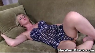 Sleeping-Mandy-Lou-wakes-up-to-a-Big-Black-Dick-in-her-Mouth