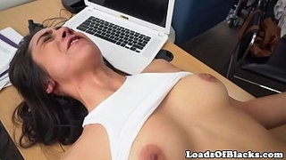 Casting-slut-BBC-fucked-deep-on-office-desk