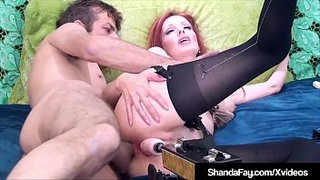 Cougar-Shanda-Fay-Gets-DP-Machine-In-Cunt-&-Real-Cock-In-Ass