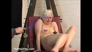 Cute-blonde-slave-Chaos-tit-tormented-to-tears-and-whipped-in-bondage-on-the-pun