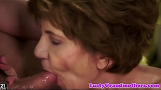 Faketit-granny-jizzed-in-mouth-after-fucking