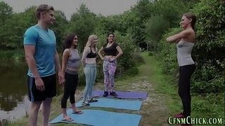 Cfnm-yoga-brit-dominas