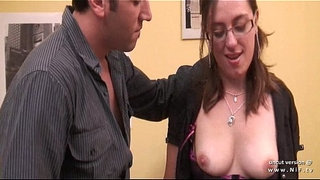 Pretty-amateur-french-brunette-ass-gaped-and-hammered-with-cum-on-tits