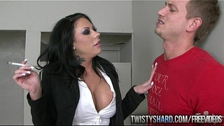 Mason-Moore-catches-her-student-smoking