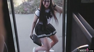 Schoolgirl-pussy-rammed-in-the-bus-drivers-VR-world