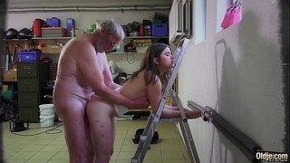 Old-Young-Beautiful-teen-maid-fucked-by-ugly-old-grandpa-She-likes-sex