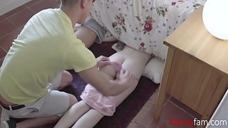 Teen-Skinny-SISTERS-Screwed-by-BROTHER