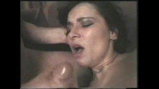Anal-greek-brunette---NO-FAKE---Extreme-and-rough-group-sex-as-hubby-watches-guys-fuck-wifey