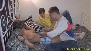 Cuckolding-russian-girlfriend-handcuffed