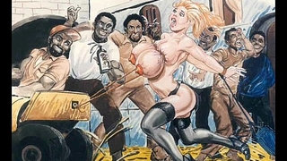 Slaves-in-bondage-bdsm-cartoon-art