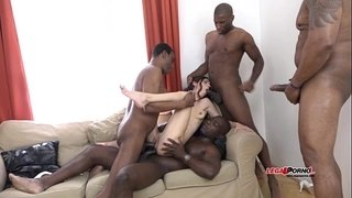 Mega-interracial-Gangbang---Arwen-Gold-versus-4-huge-black-cocks