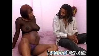 Preggo-ebony-sucks-and-rides-BBC