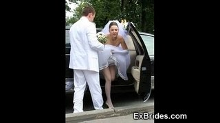 Real-Brides-Hot-In-Public!
