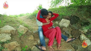 Village-Aunty-Romance-With-Neighbour-In-Outdoor----Latest-Telugu-Romantic-Short