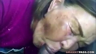 Asian-Granny-Sucks-Black-Cock-In-The-Car
