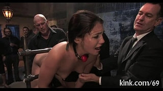 Breasty-waitress-punished