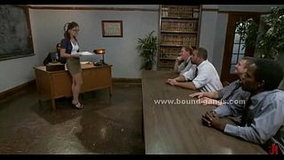 Young-college-teacher-dominated-in-rough-bdsm-gang-bang-in-awesome-video
