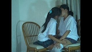 Two-thai-lesbian-shaved-pussy