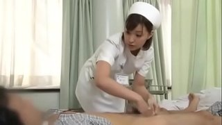 Sexy-japanese-nurse-giving-patient-a-handjob