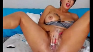 Latina-Fingering-Ass-Pussy-and-Squirt