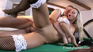 Cum-on-pussy-for-big-titted-maid-loving-to-suck-the-real-big-white-dick-to-fuck