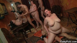Hot-plump-gangbang