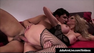 Sex-Craved-Cougar-Julia-Ann-Rides-Cock-In-Lingerie!