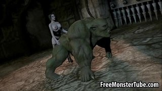 3D-orc-getting-fucked-by-a-babe-with-a-strap-on-dildo