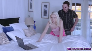 Brad-Sterling-drilling-Chloe-Cherrys-hairy-pussy-on-top!