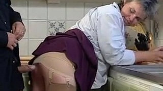 Grandma-Sucking-And-Fucking-In-The-Kitchen