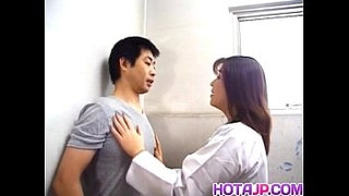 Yuko-Tachibana-has-cum-pouring-from-mouth-after-sucking-boner