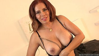 Fucking-my-shoes---Nicky-Ferrari-Bombshell-Mexican-MILF