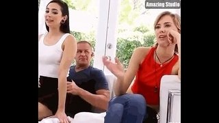Daughter-enjoys-her-father's-dick
