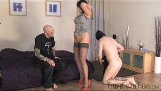Carly's-Cuckold-part1---Mistress-Carly---FemmeFataleFilms---FemDom-Sex