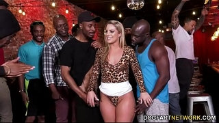BBC-Slut-Candice-Dare-Survives-Interracial-Gangbang-In-A-Bar