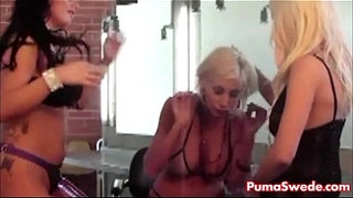 Puma-Swede-Gets-Fucked-With-Strapon-All-Girl-Threesome!